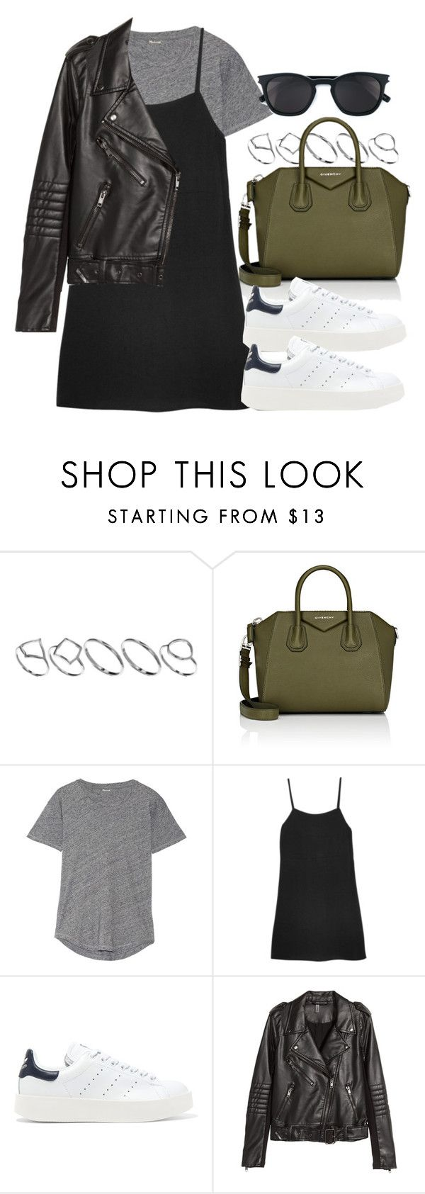 """Sin título #12015"" by vany-alvarado ❤ liked on Polyvore featuring ASOS, Givenchy, Madewell, Reformation, adidas Originals, H&M and Yves Saint Laurent"