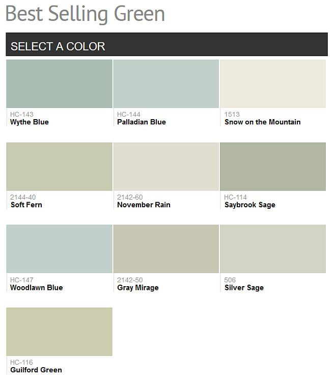 Popular Green Paint Colors best 25+ benjamin moore green gray ideas that you will like on