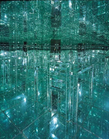 """Mirrored Room"" by Lucas Samaras (1966)"