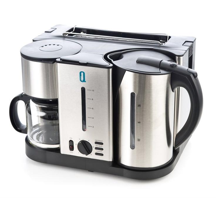 3-i-1 – Kaffetrakter, vannkoker og brødrister fra Kitchenfactory