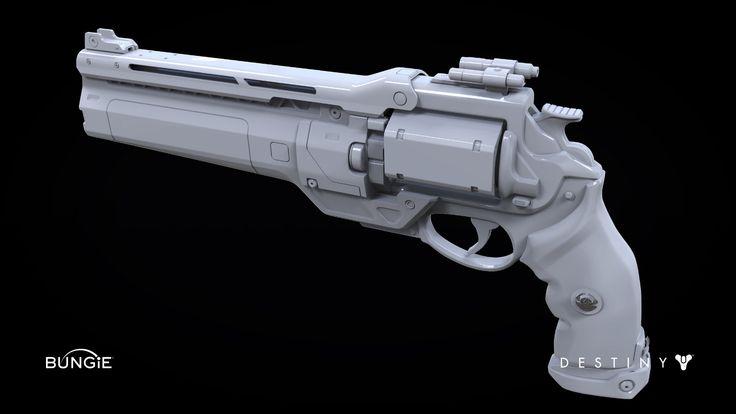 ArtStation - Destiny: Hand Cannon 1B, Milton Cadogan