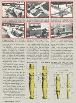 ATRACTIVA SILLA DE ESTILO COLONIAL MARZO 1972 ABRIL 1972 006 copia