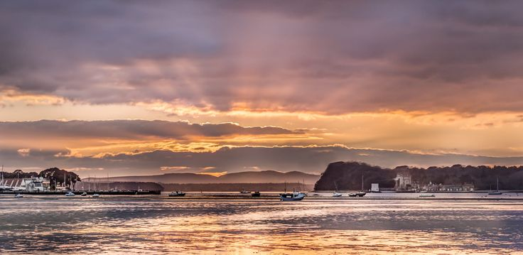 ***Rays of light (Sandbanks, Dorset, England) by Nick Powell