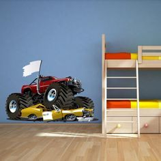 Monster Truck Bedroom   Google Search