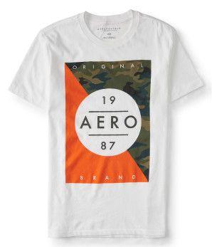 Camo Aero 1987 Graphic T -