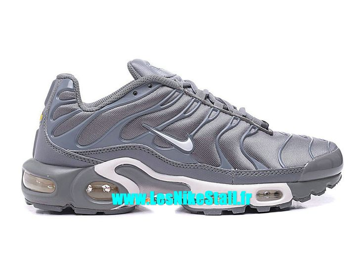 Nike Air Max Tn Requin/Tuned 2016 Chaussures Nike Basketball Pas Cher Pour Homme Gris 604133-806