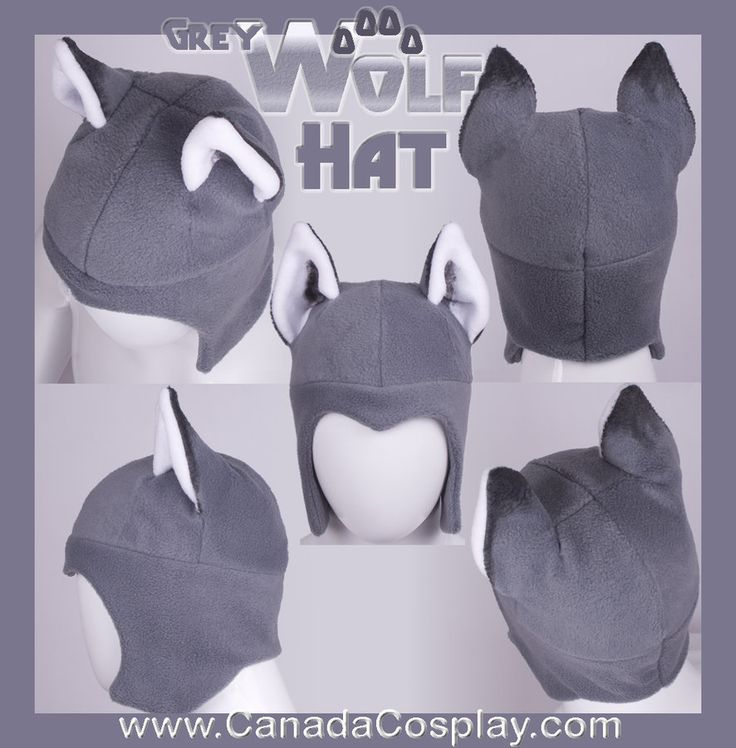 Grey Wolf Aviator Hat 2012 by calgarycosplay on deviantART