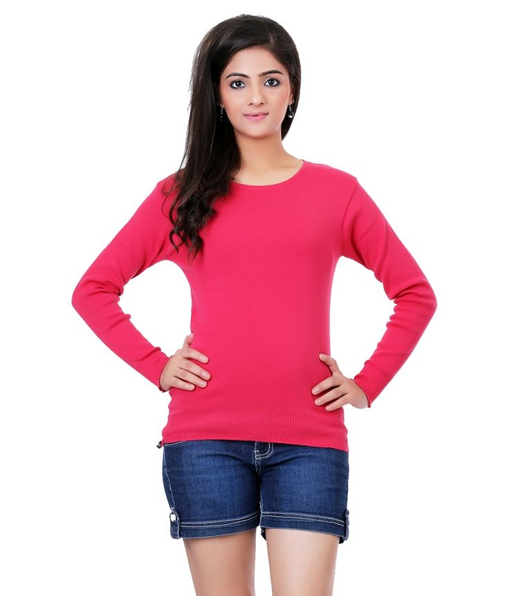 Renka Skivvyy Carrot Knitted Winter Top-(l) -skivvy-carrot-rn1, http://www.snapdeal.com/product/renka-skivvyy-carrot-knitted-winter/2062282765