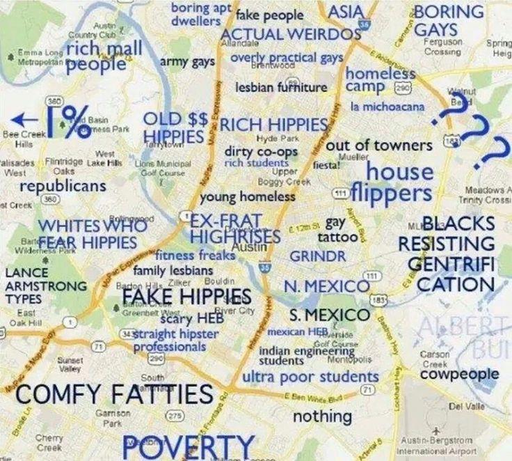 Austin Texas Demographics Map. Austin. Get Free Images About World ...