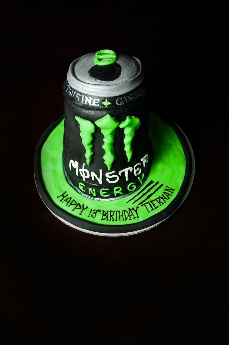 Kuchen mit monster energy
