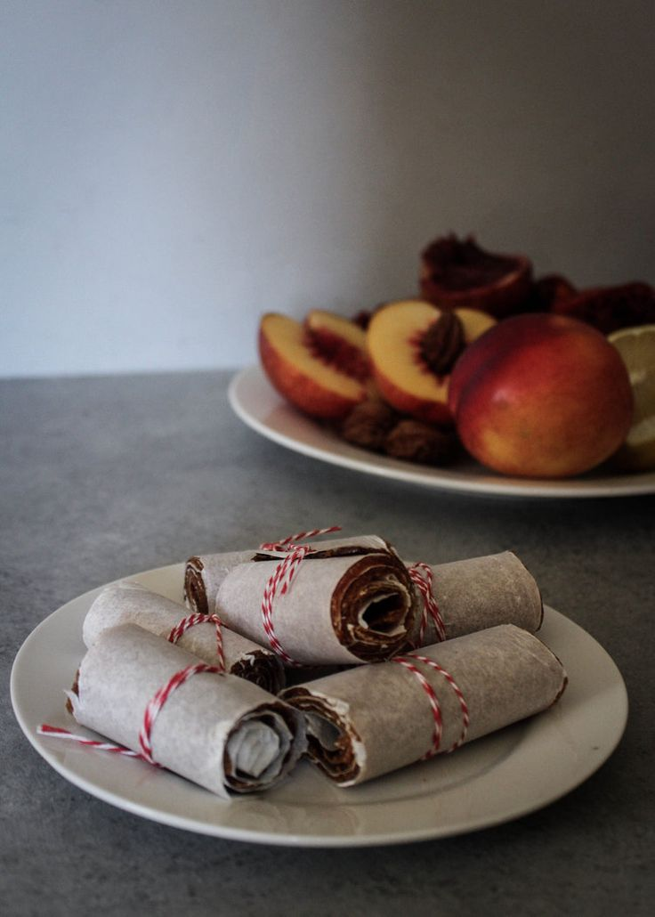 Blut-Orange und Pfirsich-Frucht-Leder
