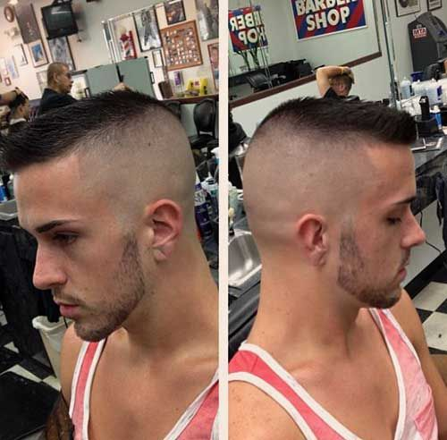 Swell 17 Best Ideas About High And Tight Haircut On Pinterest High And Hairstyles For Men Maxibearus