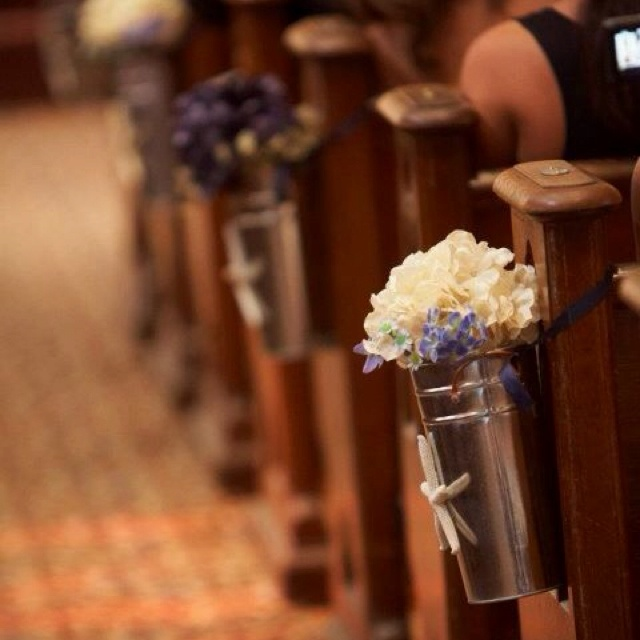 Church Pew Wedding Decoration Ideas: 17 Best Images About Pew Decorations On Pinterest
