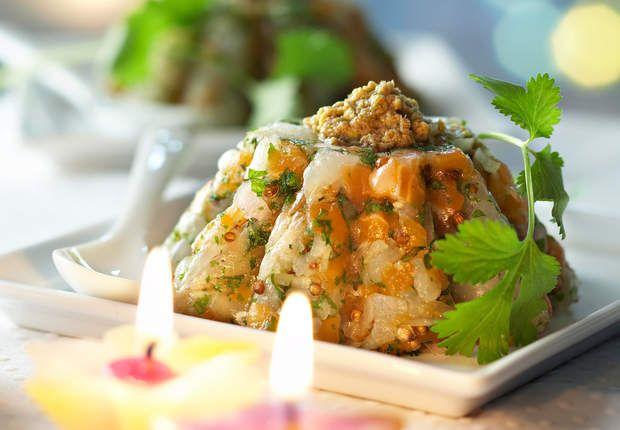 Tartare de saumon et Saint-JacquesVoir la recette Tartare de saumon et Saint-Jacques >>