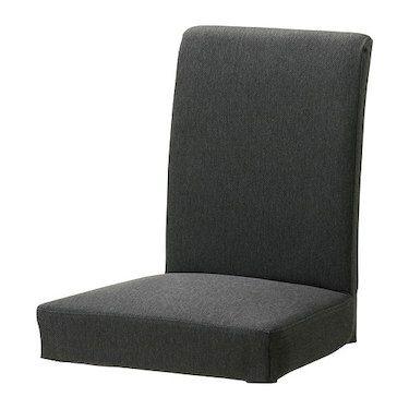 HENRIKSDAL Chair Cover Dansbo Dark Grey