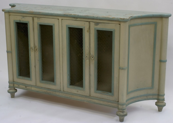 Inventia Design: Swedish Style Dining Room Sideboard With Antique Finish.  This Went To Forest