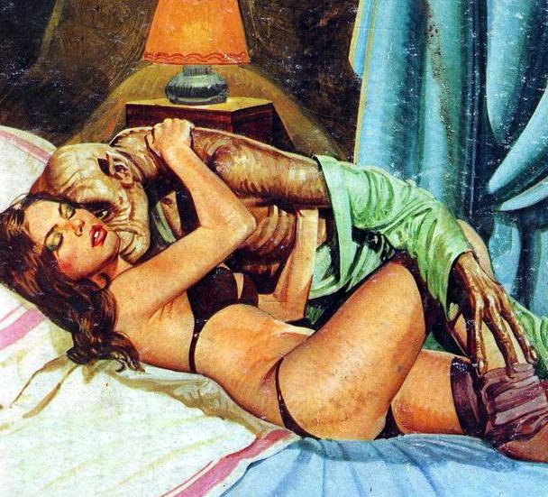 Erotic horror online comics