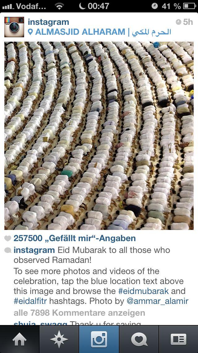 Ramadan in Mekkah
