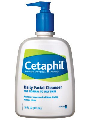 Cetaphil Daily Facial Cleanser - InStyle Best Beauty Buys 2012 Winner.  Gentle