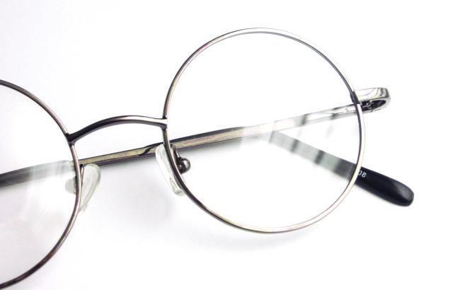 Size 42mm Round Harry Potter Grey Eyeglass Frame Men