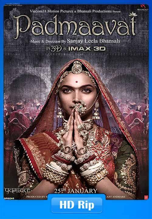 Padmaavat 2018 Hindi Pre-DVDRip 750MB x264 Drama, History