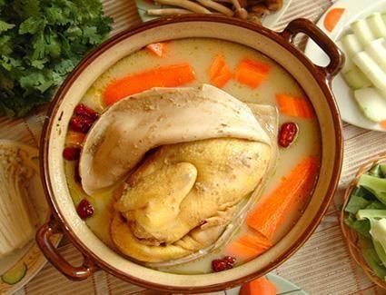 Pork Tripe Stew Chicken