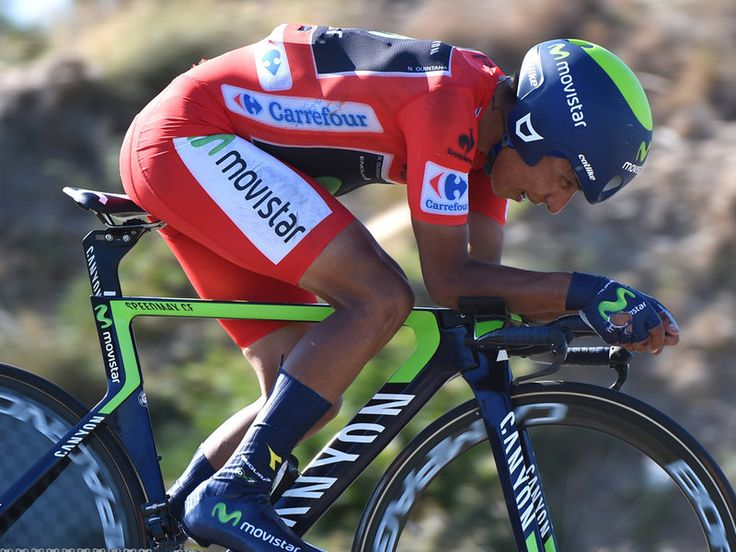 VUELTA A ESPANA STAGE TEN GALLERY Nairo Quintana began the day in the lead but crashed spectacularly whilst descending