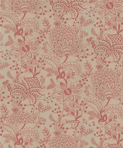 Naar wallpaper in Rose Pink / Stone Grey | Mitas Co.