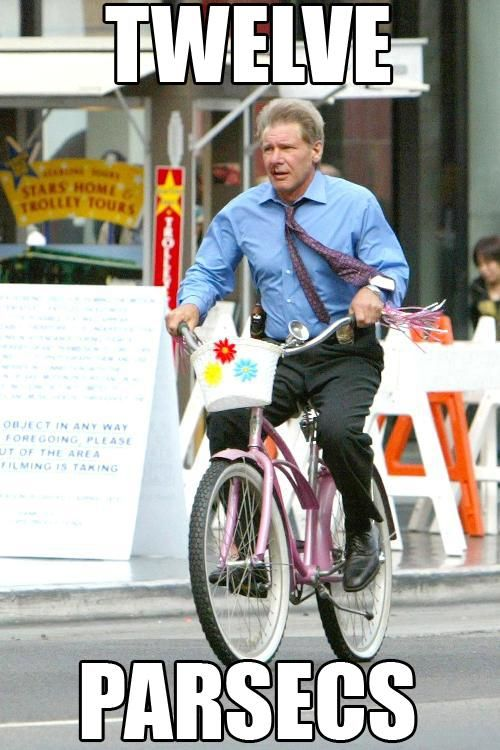 Chewy's in the basket.This Man, Harrisonford, Harrison Ford, Millennium Falcons, Bikes, Flower Baskets, Stars Wars, Indiana Jones, Bicycle