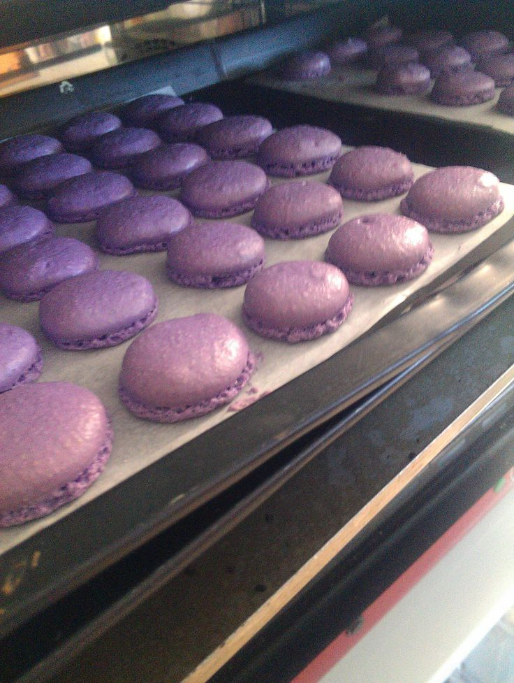 Lavender hot from the oven