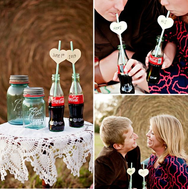 Coca Cola Engagement Pictures