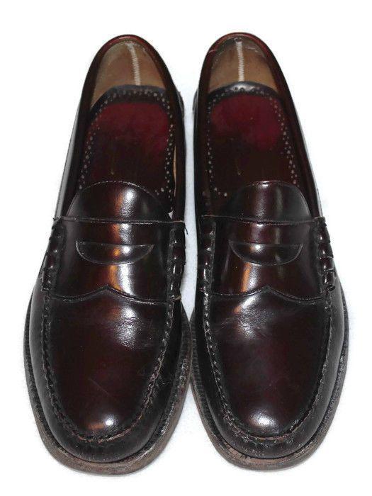 Johnston Murphy Dress Penny Loafers 10 D Aristocraft #JohnstonMurphy #LoafersSlipOns