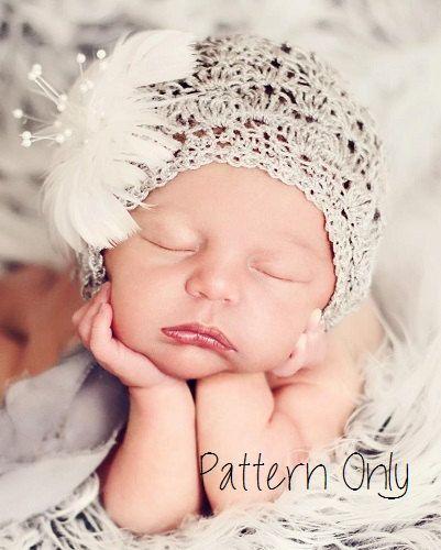 Patrón de ganchillo de recién nacido bebé por BabiesByHand en Etsy