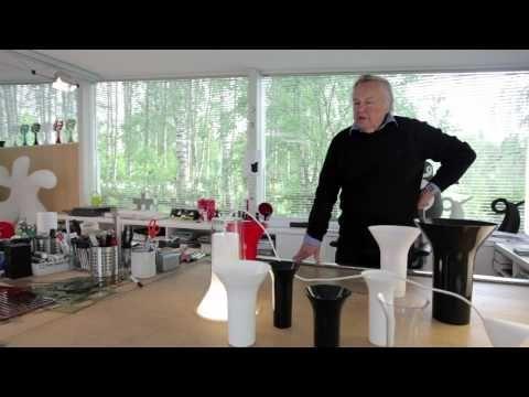 Eero Aarnio / Vaasi valaisimen syntytarina - YouTube