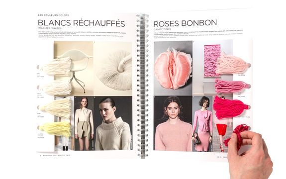 corporate fashion trend book layouts - Google Search