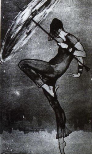 The Dance of the Rain - David Alfaro Siqueiros