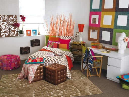 Do you love the bright and vibrant color in this boho for Dorm room decor quiz
