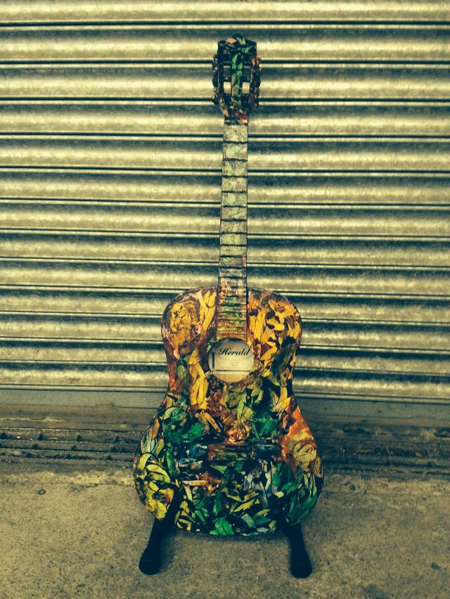 Instrumental Art: Shady Guitar created  by Frank O'Dea for the Musical Youth Foundation