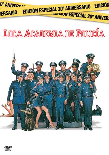 Loca academia de policía [Vídeo (DVD)] / directed by Hugh Wilson. Distribuida por Warner Home Video Española, cop. 2004