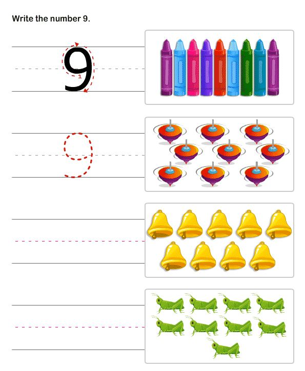 learn to write numbers math worksheets for kindergarten bai tap pinterest math math. Black Bedroom Furniture Sets. Home Design Ideas
