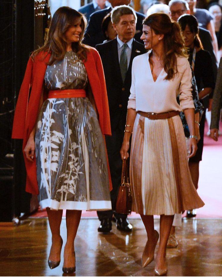 Melania & Juliana at G20