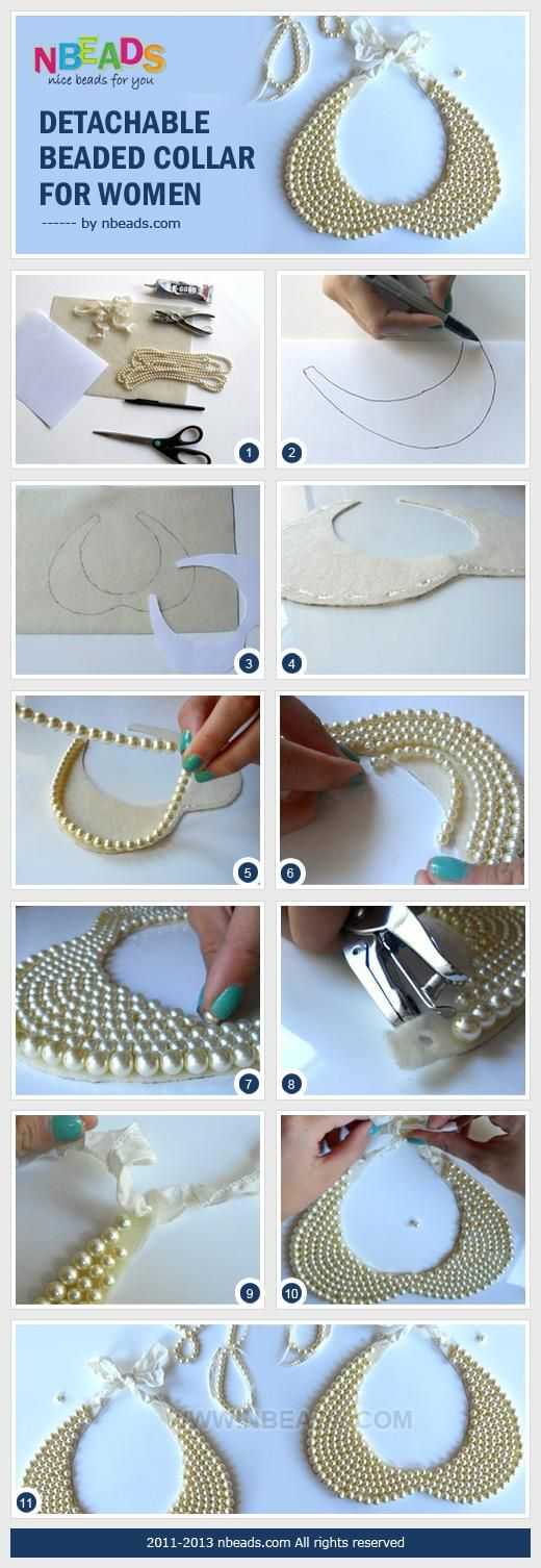 DIY Tutorial Collar cuello