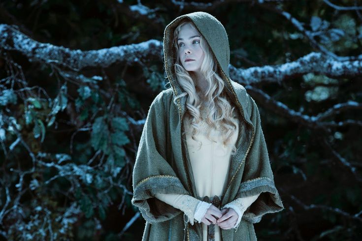 Elle Fanning in Maleficent Aurora
