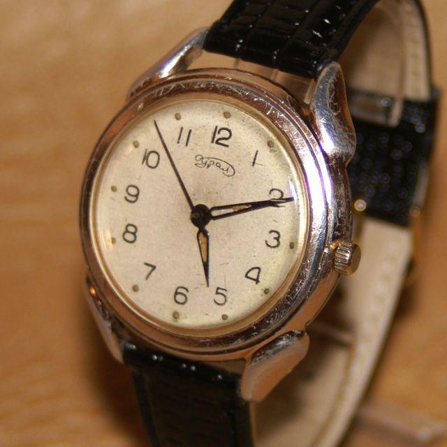 Наручные часы Урал сделано в СССР