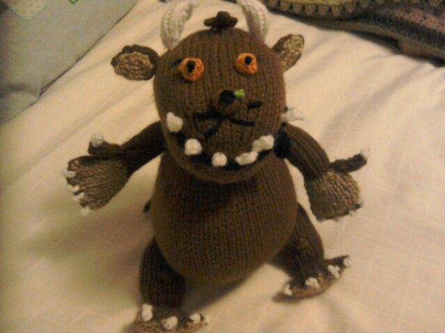Oh no its a Gruffalo! Knit, Crochet & Stitch Pinterest