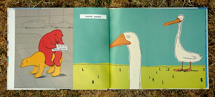 Guido Scarabottolo // Anser Anser: Art Things, Art Director, Books Illustrations, Bears, Guido Scarabottolo