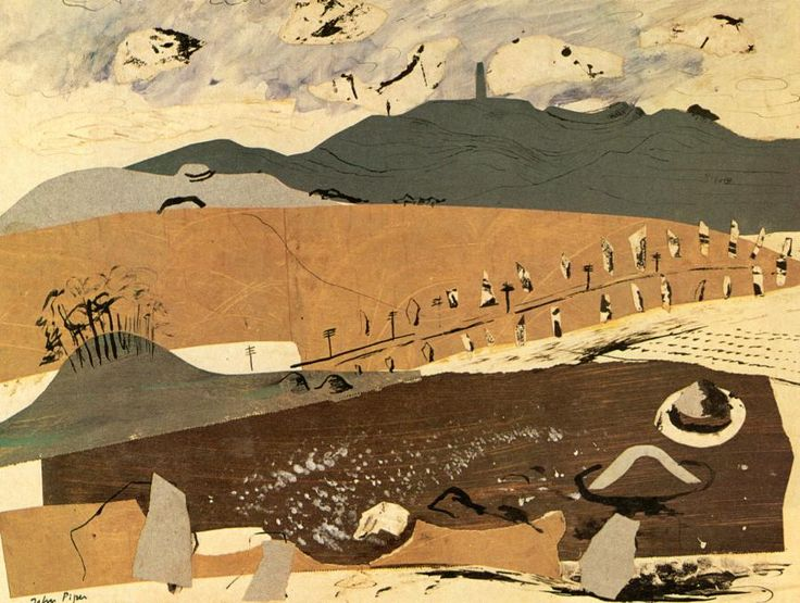 Avebury by John Piper, 1936