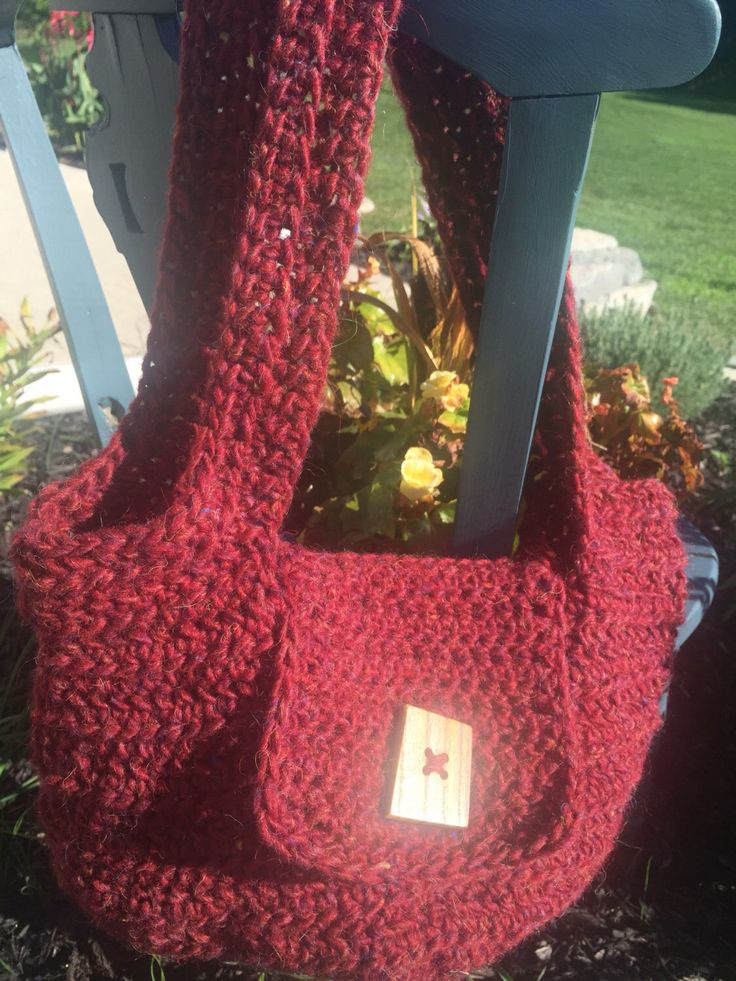 A personal favorite from my Etsy shop https://www.etsy.com/ca/listing/467746412/casual-wool-purse