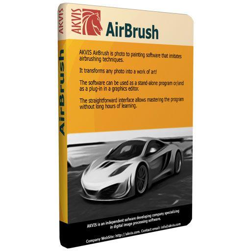 Akvis Airbrush 3 trasforma le foto in dipinti digitali
