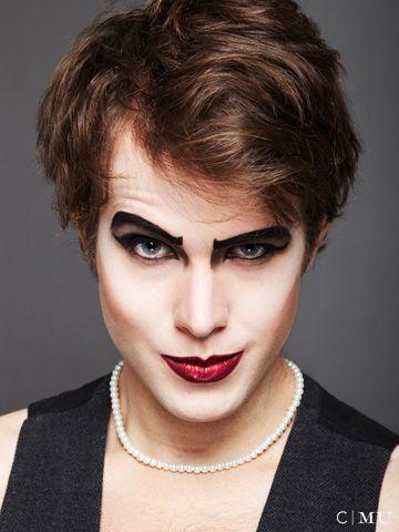 Rocky Horror Makeup by Erica O'Reilly